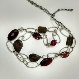 *5 for $25 sale* wood, metal, & resin necklace